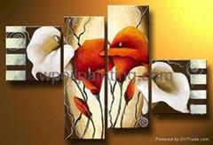 家居酒店裝飾花卉畫-FD030255