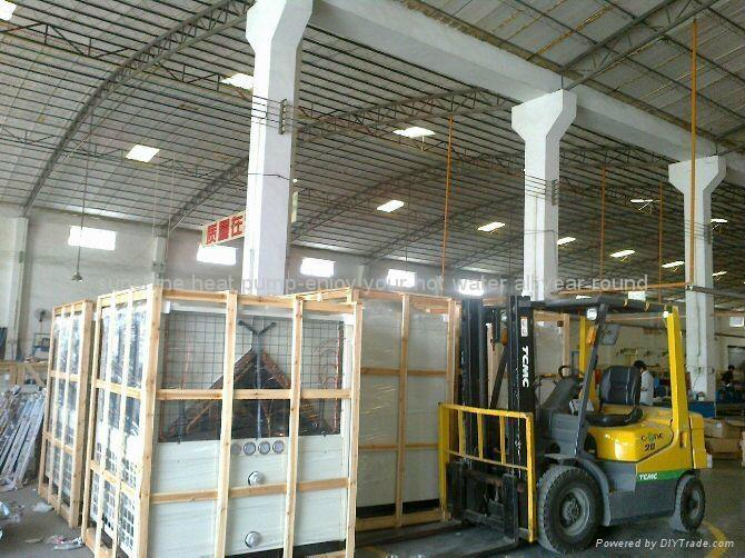 Air to water heat pump water chiller/heater 92KW 1