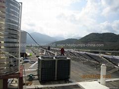 Air to water air source heat pump water heater European Vertical type 46-92KW