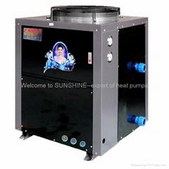 Swimming Pool  Sauna heat pump water heater 15KW