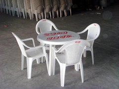 大排档沙滩户外活动办公塑料桌椅