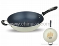 Porcelain Enamel Non-stick Frying pan