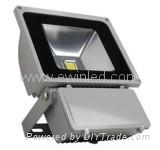 80W LED Floodlight with Excellent Heat-sink Technology and 85 to 265V AC Input V
