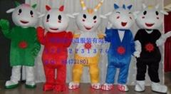 供應2010年亞運會吉祥物,樂羊羊,五羊