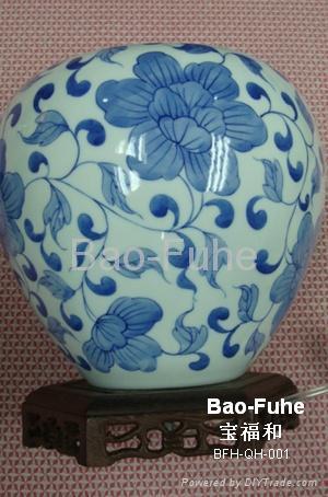 精品青花瓷燈具(BFH-QH-001) 1
