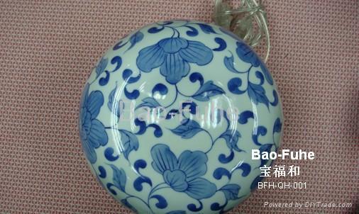 精品青花瓷燈具(BFH-QH-001) 2