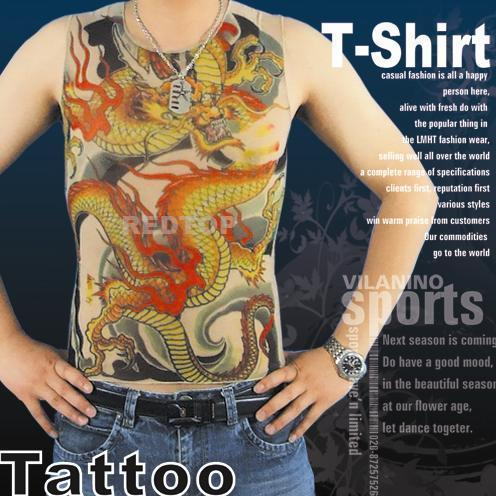 Tattoshirt on Tattoo T Shirt   Rt C6   Redtop  China Manufacturer    Personal Care