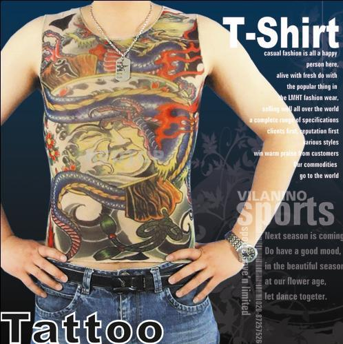 tattoo T-shirt sleeveless