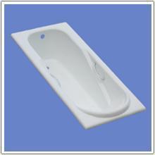 Luxury enamel bathtub