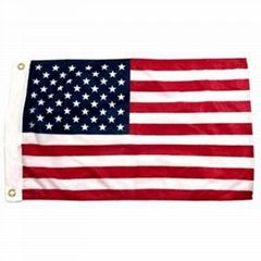 USA nylon flags