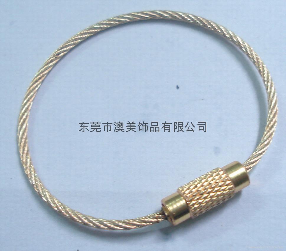 彩色钢丝绳 1