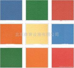 供應PVC塑膠運動地板