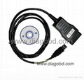 Vag Tacho 3.01+Opel Immo AirBag diagnostic cable