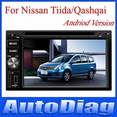 2013 2 Din Universal Android Car DVD Player For TIIDA NISSAN Universal 2004-2010