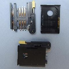 供应GPRS上的SIM卡座(抽屉式,翻盖式)