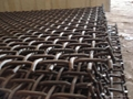 Mn45 65Mn crimped screen cloth Quarry Screens,Stone Crusher Screen