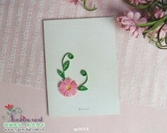 Hand three-dimensional greeting cards