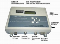 Wind data acquisition system