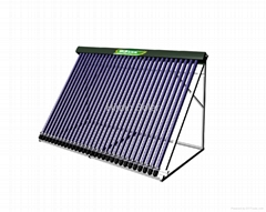 Vacuum tube solar collector-Manifold collector for project