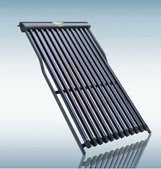 Evacuated u- tube solar collector