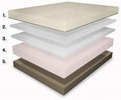 Memory Foam Mattress  ( 5 LAYER)