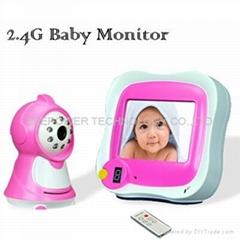 "3.5""wireless baby monitor"