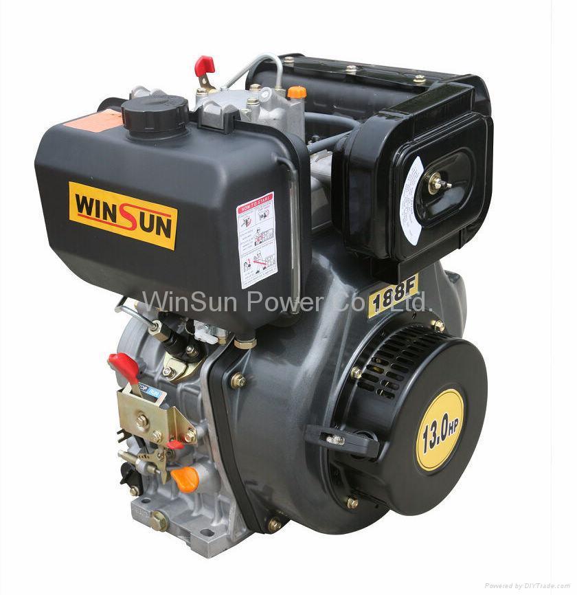 Air-cooled Single Cylinder Diesel Engine--WS188F 1