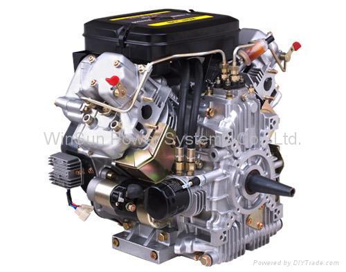 V Twin Air Cooled Diesel Engine 22hp R2v840 Winsun