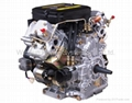 V-twin Air-cooled Diesel Engine (22hp) 4