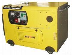 Silent Diesel Generator Sets (8-10KW)