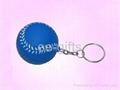 PU Stress Ball KeyChains