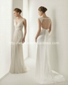 Wholesale New Wedding Dress V Neck Informal Beach Wedding Dress NW14359