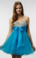 Wholesale New Sweetheart Short Blue Graduation Dresses