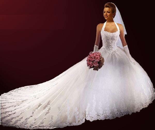 wedding gowns with extra long trains 15