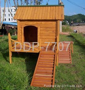 wooden dog house dog kennel dog cages 1