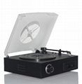USB TURNTABLE WITH CASSETTE PLAYER 1