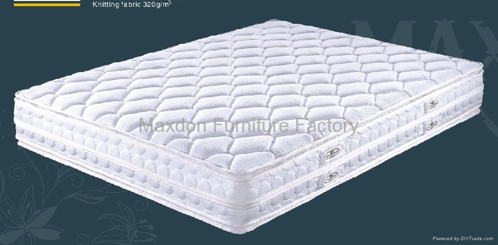 Memory Foam And Pillow Top Mattress Topper