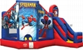Inflatable Spideman Bouncy castle