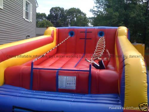 Inflatable Jacob's Ladder