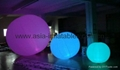 colourful inflatable balloon with RGB light for party/event/holiday decoration