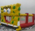 Spongebob bouncy castle