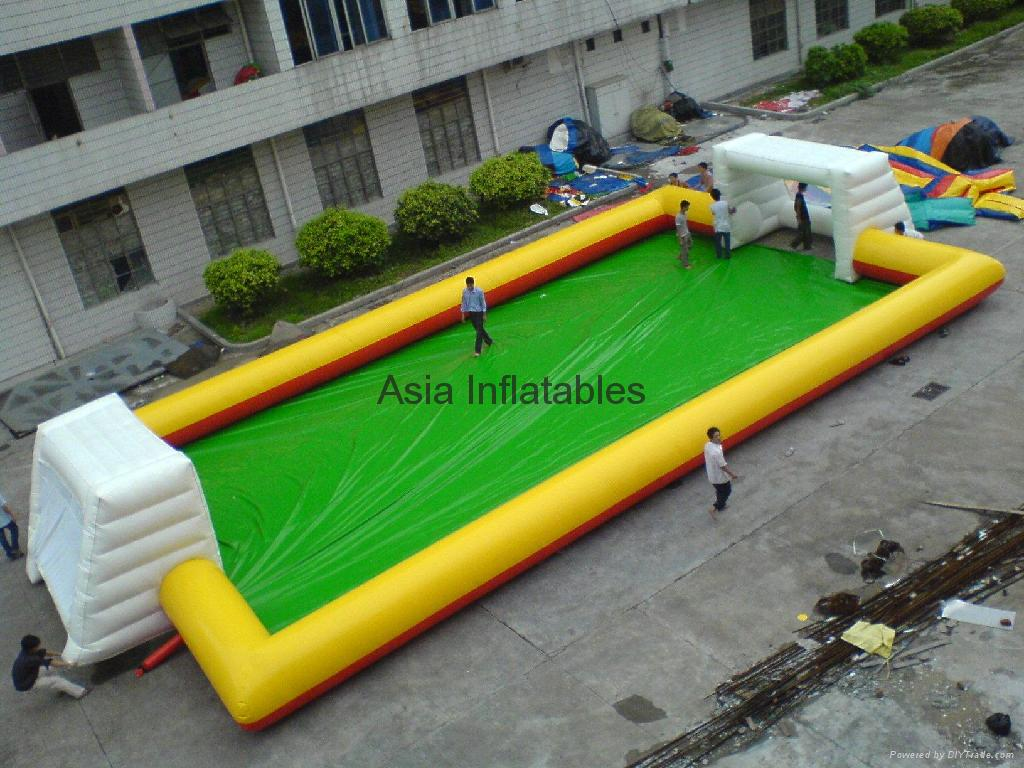 Inflatable Sports Playground / football field/ soccer pitch