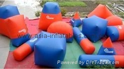 Air sealed bunkers / paintball game/ speed ball games