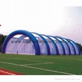 infltable paintball bunker arena for speed ball games in amusement parks