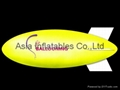 Inflatable blimpe with customized business logo for holiday and sports event