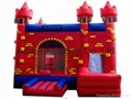 China Inflatable Red Castle Bouncer (BOU-1027)