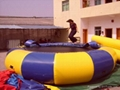 Water floating infltable Trampoline / bounce platform for water games