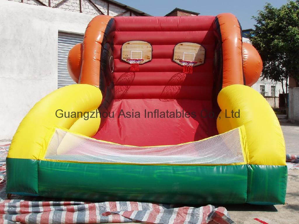 Inflatable basketball Playground / amusement equipment