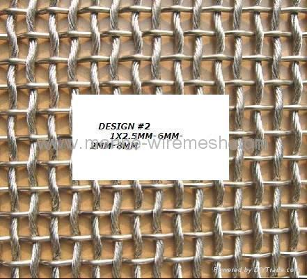 Decorative Wire Mesh 4