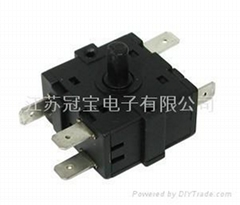 rotary switch XCK-240 With CQC,TUV,UL Certificate and RoHS compliant